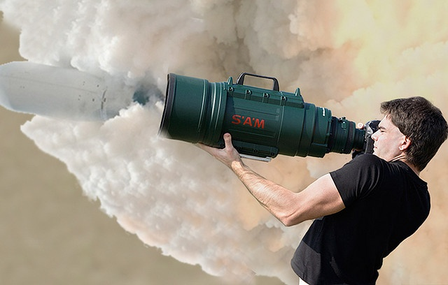 Sigma 200-500mm f/2.8 lens rocket