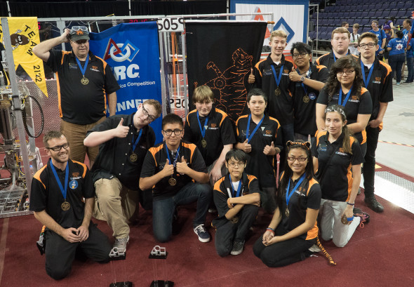 2015 Arizona West Regional champions: Team 5059 (Globe).